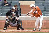 NCAA Baseball featuring the Texas Longhorns against the Missouri Tigers. Etier, Jordan 4960  at the 2010 Astros College Classic in Houston's Minute Maid Park on Sunday, March 7th, 2010. Photo by Andrew Woolley