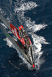 23 June 2007, Valencia, Spain --- 32nd America's Cup challenger Emirates Team New Zealand sails in Valencia. Photo by Victor Fraile / The Power of Sport Images