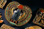 Pectoral scarab of King Tutankhamun, New Kingdom