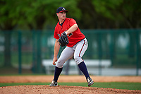 Atlanta Braves Evan Phillips (30) during an intrasquad Spring Training game on March 29, 2016 at ESPN Wide World of Sports Complex in Orlando, Florida.  (Mike Janes/Four Seam Images)