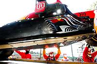 LECLERC Charles (mco), Scuderia Ferrari SF21, action crash, accident, during the Formula 1 Pirelli Gran Premio Del Made In Italy E Dell emilia Romagna 2021 from April 16 to 18, 2021 on the Autodromo Internazionale Enzo e Dino Ferrari, in Imola, Italy - <br /> Formula 1 Gran Premio Del Made In Italy E Dell Emilia Romagna 2021  16/04/2021<br /> Photo DPPI/Panoramic/Insidefoto <br /> ITALY ONLY
