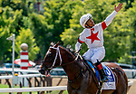 August 24, 2019 : Mitole #3, ridden by Ricardo Santana, wins the Forego Stakes during Travers Stakes Day at Saratoga Racecourse in Saratoga Springs, New York. Scott Serio/Eclipse Sportswire/CSM