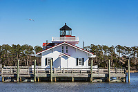 Roanoke Marshes Lighhouse, Manteo, North Carolina, USA