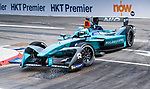 Luca Filippi of Italy from NIO Formula E Team on track at the Formula E Non-Qualifying Practice 3 during the FIA Formula E Hong Kong E-Prix Round 2 at the Central Harbourfront Circuit on 03 December 2017 in Hong Kong, Hong Kong. Photo by Marcio Rodrigo Machado / Power Sport Images