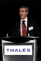 Montreal (QC) CANADA, February 11, 2008<br /> -Alain Boursier speak at<br /> Thales Avionics Main Office  Ville st-Laurent (Montreal)  Building Inauguration.<br /> <br /> <br /> photo : (c)  images Distribution