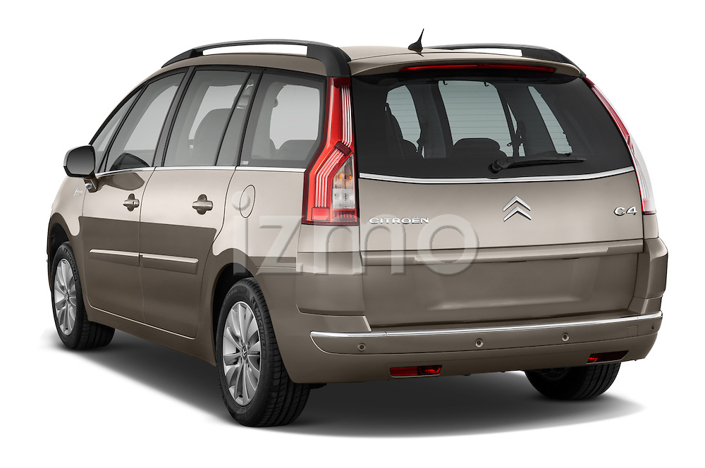 Rear three quarter view of a 2010 Citroen GRAND C4 PICASSO Millenium 5 Door Minivan 2WD