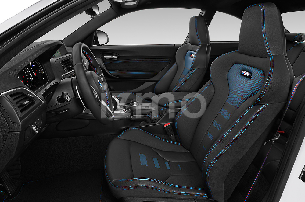 Front seat view of a 2020 BMW m2 competition Base 2 Door Coupe front seat car photos