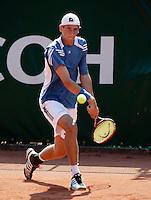 16-8-06,Amsterdam, Tennis, NK, First round match, Thiemo de Bakker loosing in first round