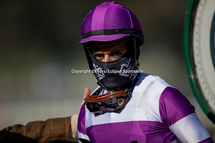 December 26, 2020: Mario Gutierrez at Santa Anita Park in Arcadia, California on December 26, 2020. Evers/Eclipse Sportswire/CSM