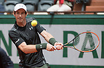 May 24, 2016:  Andy Murray (GBR) defeated Radek Stepanek (CZE) 3-6, 6-0, 6-3, 7-5, at the Roland Garros being played at Stade Roland Garros in Paris, .  ©Leslie Billman/Tennisclix/CSM