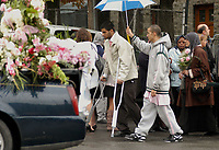 September 19, 2006 File Photo - Funerals of Anastasia Rebecca De Sousa, the Dawson student shot dead , september 13 by <br /> Kimveer Gill, who entered the school with an automatic rifle and a hangun wounding 19 student before  commiting suicide after being wound by the police,<br /> <br /> <br /> <br /> <br /> Photo : (c) Rob Gallbraith, 2006