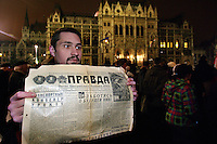 Hungary: Media law protests - news