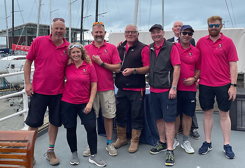 Second overall - Squawk skippered by Paul Prentice of Ballyholme Yacht Club
