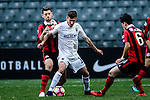Auckland City Midfielder Fabrizio Tavano (c) in action during the 2017 Lunar New Year Cup match between Auckland City FC (NZL) vs FC Seoul (KOR) on January 28, 2017 in Hong Kong, Hong Kong. Photo by Marcio Rodrigo Machado/Power Sport Images
