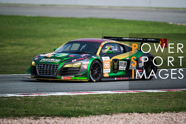 TianShi Racing Team, #66 Audi R8 Ultra GT3, driven by Peng Liu, Wiser Massimilano and Christopher Haase in action during the 2016-2017 Asian Le Mans Series Round 1 at Zhuhai Circuit on 30 October 2016, Zhuhai, China.  Photo by Marcio Machado / Power Sport Images