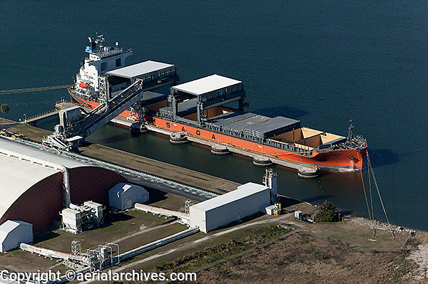 aerial photograph Saga Pioneer Port Tampa, Florida