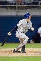 August 20, 2008: Tri-City Dust Devils' Charlie Blackmon at-bat during a Northwest League game against the Yakima Bears at Yakima County Stadium in Yakima, Washington.