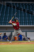 AZL Diamondbacks right fielder Chaz Meadows (4) at bat against the AZL Cubs on August 11, 2017 at Sloan Park in Mesa, Arizona. AZL Cubs defeated the AZL Diamondbacks 7-3. (Zachary Lucy/Four Seam Images)