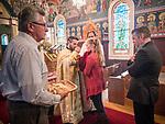 Holy Saturday Liturgy, St. Sava Serbian Orthodox Church, midnight in Jackson, Calif.