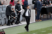 LOS ANGELES, CA - MARCH 01: Inter Miami CF head coach Diego Alonso during a game between Inter Miami CF and Los Angeles FC at Banc of California Stadium on March 01, 2020 in Los Angeles, California.