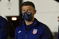 FORT LAUDERDALE, FL - DECEMBER 09: Paul Arriola of the United States during a game between El Salvador and USMNT at Inter Miami CF Stadium on December 09, 2020 in Fort Lauderdale, Florida.