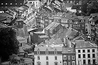 peloton through the streets of Namur<br /> <br /> stage 4: Seraing (BEL) - Cambrai (FR) <br /> 2015 Tour de France