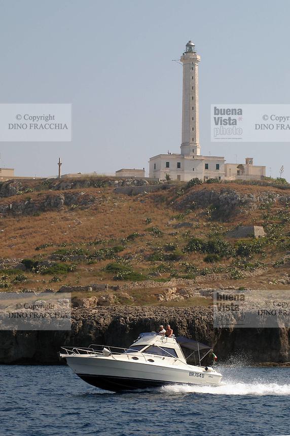 - Puglia, il faro di S.Maria di Leuca, lembo estremo dell'Italia<br /> <br /> - Apulia, the lighthouse of S.Maria di Leuca, extreme border of Italy