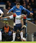 Seb Faure squats on Iain Campbell