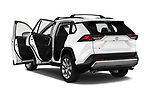 Car images close up view of a 2019 Toyota RAV4 Limited 5 Door SUV doors