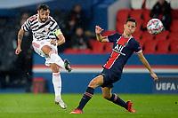 Brunio Fernandez (Man Utd) <br /> Paris  20/10/2020 <br /> Paris Saint Germain PSG - Manchester United <br /> Champions League 2020/2021<br /> Photo JB Autissier / Panoramic / Insidefoto <br /> Italy Only