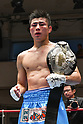 Boxing : Japanese middleweight title bout