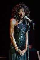 HOLLYWOOD FL - NOVEMBER 05: Natalie Cole performs at Hard Rock Live held at the Seminole Hard Rock Hotel & Casino on November 5, 2014 in Hollywood, Florida<br /> <br /> People:  Natalie Cole