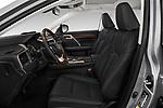 Front seat view of 2019 Lexus RX 350L-4x2 5 Door SUV Front Seat  car photos