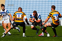 25th April 2021; Ricoh Arena, Coventry, West Midlands, England; English Premiership Rugby, Wasps versus Bath Rugby; Sam Underhill of Bath Rugby takes the ball into contact