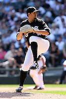 August 15 2008:  Pitcher D.J. Carrasco of the Chicago White Sox during a game at U.S. Cellular Field in Chicago, IL.  Photo by:  Mike Janes/Four Seam Images