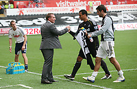 Pictured: Sunday 02 October 2011<br /> Re: Premier League Swansea City FC v Stoke City at the Liberty Stadium, south Wales.