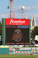 Rochester, NY - Saturday July 09, 2016: Frontier Field prior to a regular season National Women's Soccer League (NWSL) match between the Western New York Flash and the Seattle Reign FC at Frontier Field.