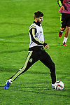 Spanish National Team's  training at Ciudad del Futbol stadium in Las Rozas, Madrid, Spain. In the pic: Gerard Pique. March 25, 2015. (ALTERPHOTOS/Luis Fernandez)