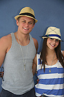 As The World Turns' Billy Magnussen - Alex Chando donate their time at the 12th Annual SoapFest - Painting Party to benefit Marco Island YMCA, theatre program & Art League of Marco Island on May 15, 2010 on Marco Island, FLA. (Photo by Sue Coflin/Max Photos)