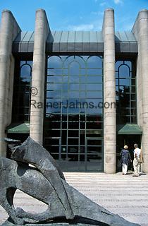 Deutschland, Bayern, Oberbayern, Muenchen: Neue Pinakothek   Germany, Bavaria, Upper Bavaria, Munich: New Pinakothek