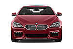Car photography straight front view of a 2017 BMW 6-Series-Coupe 650i 3 Door Coupe Front View