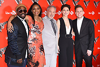 Will i Am, Jennifer Hudson, Sir Tom Jones, Emma Willis and Olly <br /> at the photocall for The Voice UK 2018 launch at Ham Yard Hotel, London<br /> <br /> <br /> ©Ash Knotek  D3366  03/01/2018