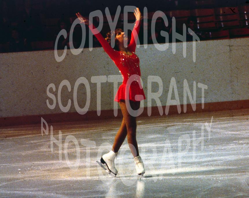 Elaine Zayak USA. Skate Canada 1980. Photo copyright Scott Grant