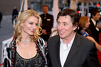 Gabriel Byrne and girlfriend Gro on the red carpet at Roy Thompson Hall for the world premiere of Emotional Arithmetic, at the Toronto International Film Festival on September 15, 2007. (CNW Group/VISA Canada)