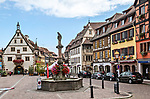 Main square, Obernai