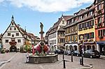 Main square, Obernai