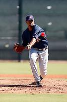 Kelvin De La Cruz - Cleveland Indians 2009 Instructional League. .Photo by:  Bill Mitchell/Four Seam Images..