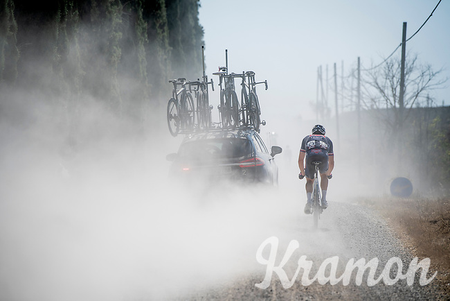 Petr Vakoc  (CZE/Alpecin-Fenix)<br /> <br /> 14th Strade Bianche 2020<br /> Siena > Siena: 184km (ITALY)<br /> <br /> delayed 2020 (summer!) edition because of the Covid19 pandemic > 1st post-Covid19 World Tour race after all races worldwide were cancelled in march 2020 by the UCI