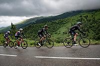 Casper Pedersen (DEN/DSM) & Cees Bol (NED/DSM)<br /> <br /> Stage 16 from El Pas de la Casa to Saint-Gaudens (169km)<br /> 108th Tour de France 2021 (2.UWT)<br /> <br /> ©kramon