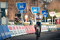 cx world champion Ceylin del Carmen Alvarado (NED/Alpecin-Fenix) wins the 2021 GP Sven Nys in Baal (BEL)<br /> <br /> ©kramon